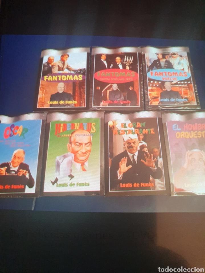 FANTOMAS DE LOUIS DE FUNES 7 DVDS (Cine - Películas - DVD)
