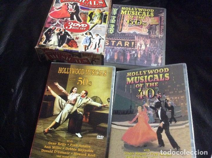 HOLLYWOOD MUSICALS COLLECTION 40S 50S 60S MUSICALES AÑOS 40 50 Y 60 INGLES DOCUMENTAL 3 CD (Cine - Películas - DVD)