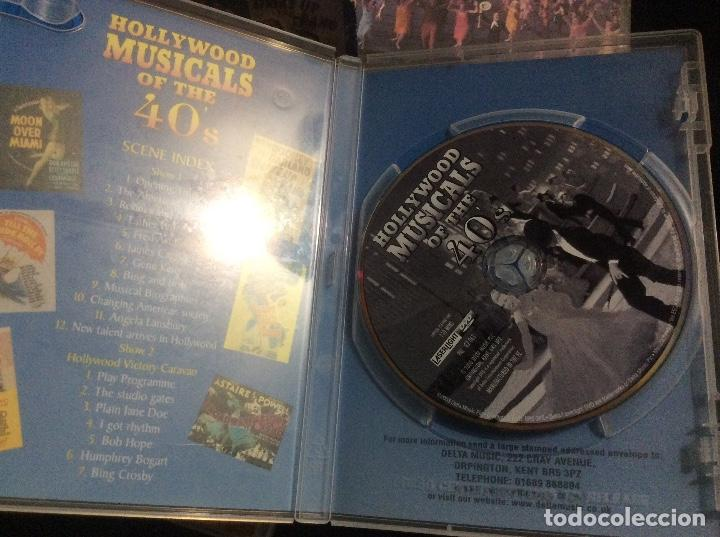 Cine: Hollywood musicals collection 40s 50s 60s musicales años 40 50 y 60 ingles documental 3 cd - Foto 2 - 293666343