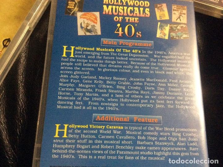 Cine: Hollywood musicals collection 40s 50s 60s musicales años 40 50 y 60 ingles documental 3 cd - Foto 3 - 293666343