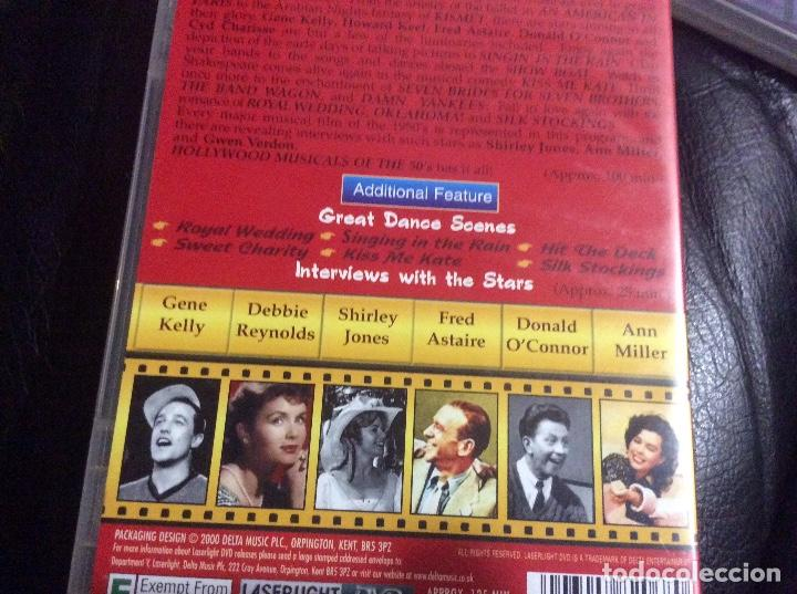 Cine: Hollywood musicals collection 40s 50s 60s musicales años 40 50 y 60 ingles documental 3 cd - Foto 4 - 293666343
