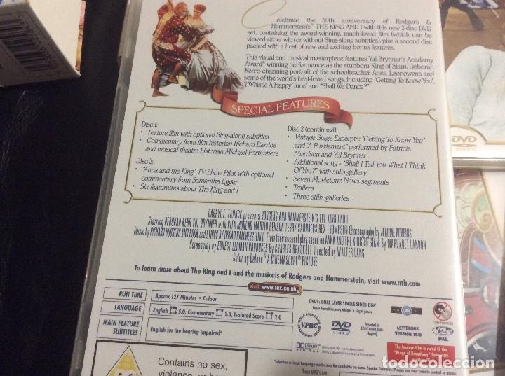 Cine: Musicales Rodgers Hammerstein celebration musical 6 film en 12 dvd ingles muchos extras - Foto 2 - 293667043