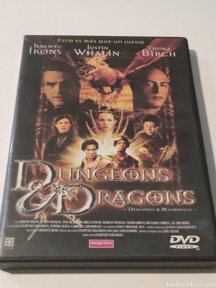 B4. DRAGONES Y MAZMORRAS. SIEMPRE EL MEJOR PRECIO (Cine - Películas - DVD)