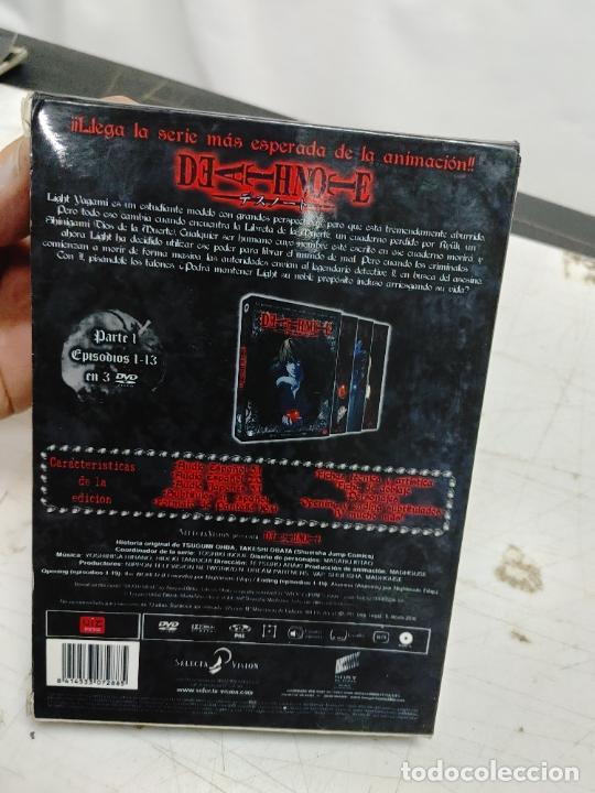 Cine: DEATHNOTE. SERIE COMPLETA 13 EÌSODIOS EN 3 DVD. MANGA. - Foto 4 - 293669023