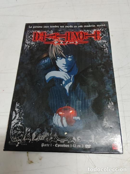 DEATHNOTE. SERIE COMPLETA 13 EÌSODIOS EN 3 DVD. MANGA. (Cine - Películas - DVD)