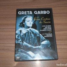 Cine: LA REINA CRISTINA DE SUECIA DVD GRETA GARBO. Lote 293717388