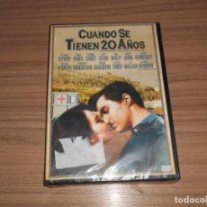 Cine: CUANDO SE TIENEN 20 AÑOS DVD RICHARD BEYMER PAUL NEWMAN DIANE BAKER NUEVA PRECINTADA. Lote 293717683