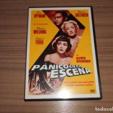 Cine: PANICO EN LA ESCENA DVD JANE WYMAN MARLENE DIETRICH WARNER COMO NUEVA. Lote 293718618