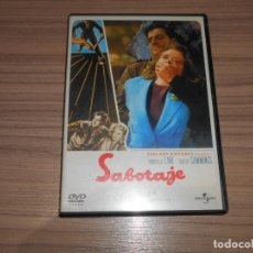 Cine: SABOTAJE EDICION ESPECIAL DVD PRISCILA LANE ROBERT CUMMINGS COMO NUEVA. Lote 293718978