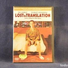 Cine: LOST IN TRANSLATION - DVD. Lote 293777368
