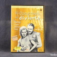 Cine: EL CONGRESO SE DIVIERTE - DVD. Lote 293777848