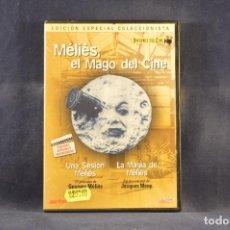 Cine: MÉLIÈS EL MAGO DEL CINE - DVD. Lote 293778258