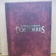 Cine: EL SEÑOR DE LOS ANILLOS - LAS DOS TORRES VERSION EXTENDIDA - 4 DVDS + LIBRETO - CAJA COLECCIONISTA. Lote 293793708