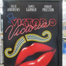 Cine: VICTOR O VICTORIA - JULIE ANDREWS - JAMES GARNER - BLAKE EDWARDS. Lote 293801063