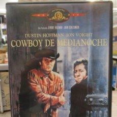 Cine: COWBOY DE MEDIANOCHE - DUSTIN HOFFMAN - JON VOIGHT - INCLUYE LIBRETO. Lote 293803328
