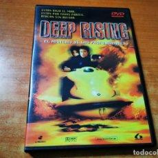 Cine: DEEP RISING ( EL MISTERIO DE LAS PROFUNDIDADES ) DVD DEL AÑO 1999 FRANKIE JANSSEN ANTHONY HEAD. Lote 293813983