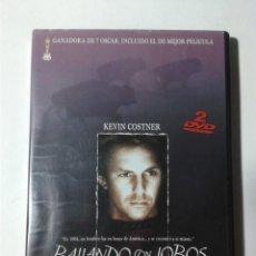 Cine: BAILANDO CON LOBOS - EDICION ESPECIAL - 2 DVD. Lote 293818233