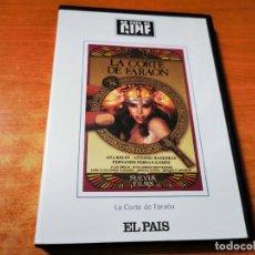 Cine: LA CORTE DE FARAON DVD EL PAIS 2003 ANTONIO BANDERAS ANA BELEN FERNANDO FERNAN GOMEZ. Lote 293818393