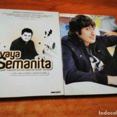 Cine: VAYA SEMANITA LOS MEJORES SKETCHES 2 DVD DIGIPACK 2008 ANDONI AGIRREGOMEZKORTA RAUL POVEDA HUMOR. Lote 293819223