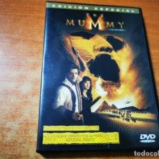 Cine: THE MUMMY LA MOMIA EDICION ESPECIAL 2 DVD DEL AÑO 2001 ESPAÑA RACHEL WEISZ JOHN HANNAH ARNOLD VOSLOO. Lote 293820158