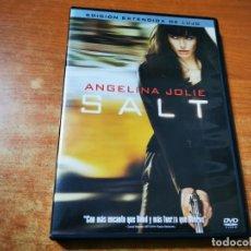 Cine: SALT EDICION EXTENDIDA DE LUJO DVD 2010 ESPAÑA ANGELINA JOLIE CHIWETEL EJIOFOR DANIEL OLBRYCHSKI. Lote 293821823