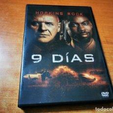Cine: 9 DIAS DVD DEL AÑO 2002 ESPAÑA ANTHONY HOPKINS CHRIS ROCK JOEL SCHUMACHER. Lote 293823888