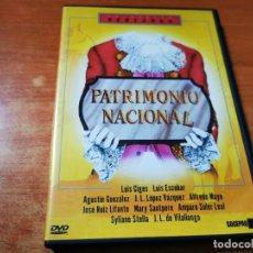 Cine: PATRIMONIO NACIONAL DVD DEL AÑO 2000 ESPAÑA COLECCION BERLANGA LUIS ESCOBAR ALFREDO MAYO. Lote 293824958