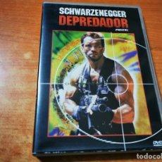 Cine: DEPREDADOR (PREDATOR) DVD DEL AÑO 2000 JOHN MCTIERNAN ARNOLD SCHWARZENEGGER. Lote 293944993