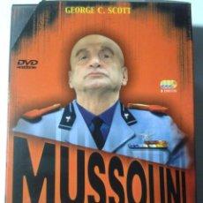 Cine: MUSSOLINI - AUGE Y CAIDA DEL NUEVO CESAR - PACK 3 DVD. Lote 293966628