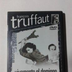 Cine: VIVAMENTE EL DOMINGO - TRUFFAUT - DVD. Lote 293967328