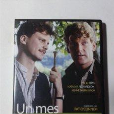 Cine: UN MES EN EL CAMPO - COLIN FIRTH - DVD. Lote 293967653