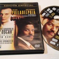Cine: B8. PHILADELPHIA. EDICIÓN ESPECIAL 2 DVD. SIEMPRE EL MEJOR PRECIO.. Lote 293977153