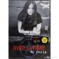 Cine: AVRIL LAVIGNE - MY WORLD, DVD.. Lote 293977268