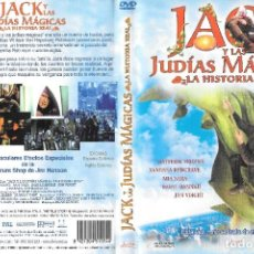 Cine: JACK Y LAS JUDÍAS MÁGICAS: LA HISTORIA REAL - BRIAN HENSON. Lote 293977708