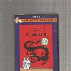 Cine: TINTIN EL LOTO AZUL (SOLO ESTUCHE). Lote 294026628