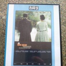 Cine: DVD -- A LOS QUE AMAN --. Lote 294069568
