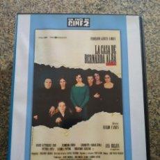 Cine: DVD -- LA CASA DE BERNARDA ALBA --. Lote 294075523