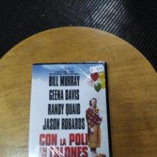 Cine: CON LA POLI EN LOS TALONES (DVD). Lote 294278758