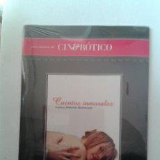 Cine: CUENTOS INMORALES - CINE EROTICO - DVD NUEVO PRECINTADO. Lote 294278783