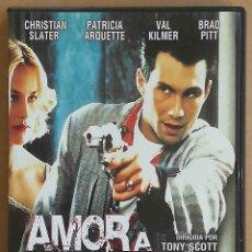 Cine: TODODVD: AMOR A QUEMARROPA. (CHRISTIAN SLATER, PATRICIA ARQUETTE, DENNIS HOPPER). Lote 294279133