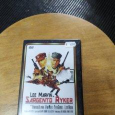 Cine: SARGENTO RYKER (DVD). Lote 294314033