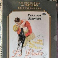 Cine: LA VIUDA ALEGRE( ERICH VON STROHEIM,1925) .EDICC. COLECCIONISTA/LIBRETO. Lote 294359083