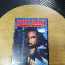 Cine: JUGAR DURO (DVD). Lote 294360078