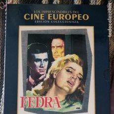 Cine: FEDRA( JULES DASSIN,1962). EDICC.COLECCIONISTA/LIBRETO. Lote 294373818