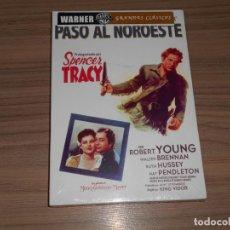 Cine: PASO AL NOROESTE DVD DE KING VIDOR ROBERT YOUNG SPENCER TRACY NUEVA PRECINTADA. Lote 294377638