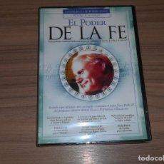 Cine: EL PODER DE LA FE DVD UNR RETRADO DE JUAN PABLO II NUEVA PRECINTADA. Lote 294377883