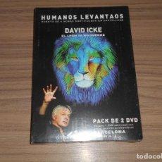 Cine: HUMANOS LEVANTAOS EDICION ESPECIAL 3 DVD DAVID ICKE NUEVA PRECINTADA. Lote 294378218