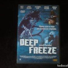 Cinema: DEEP FREEZE MIEDO HELADO - DVD CASI COMO NUEVO. Lote 294445383