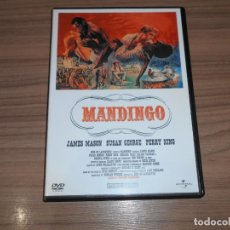 Cine: MANDINGO DVD JAMES MASON COMO NUEVA. Lote 294475758
