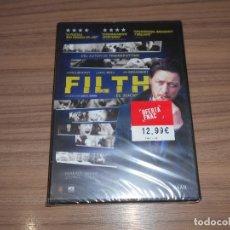 Cine: FILTH EL SUCIO DVD NUEVA PRECINTADA. Lote 294476138